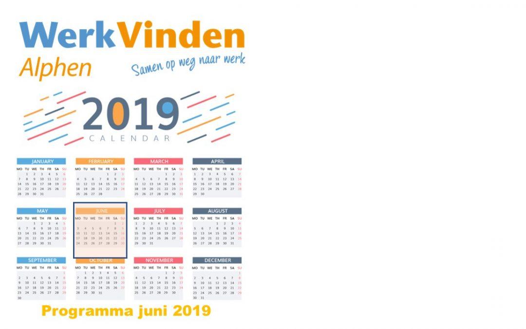 Programma juni 2019